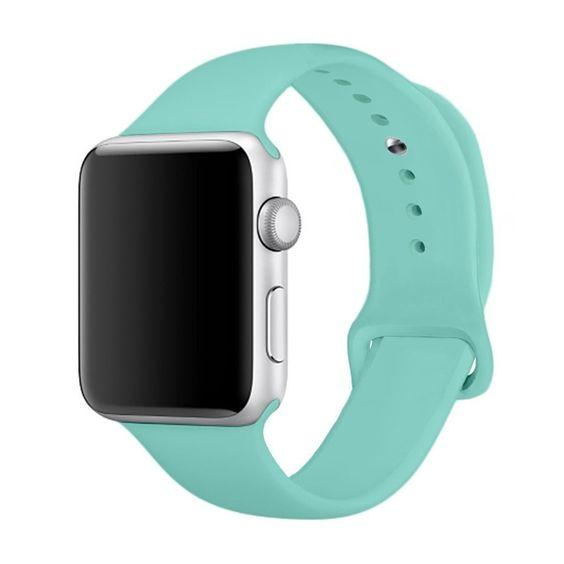 Apple Watch Silicone band 44mm 40mm series 6/5/4/3/2 - Teal