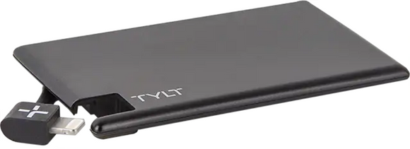 Tylt Slim Boost 1350mAh Battery Pack (Black)