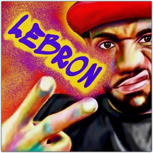 Load image into Gallery viewer, Lebron Metal Prints