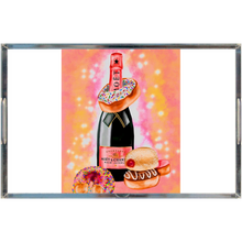 Load image into Gallery viewer, champagne and donuts Acrylic Trays