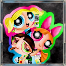 Load image into Gallery viewer, Power Puff Girls Acrylic Trays