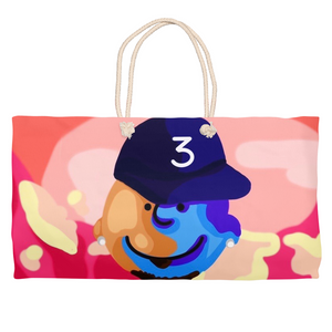 Charlie Brown x Chance The  Rapper Weekender Totes
