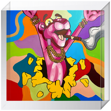 Load image into Gallery viewer, Pink Panther Acrylic Blocks