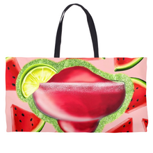 Load image into Gallery viewer, Drink 3 Weekender Totes