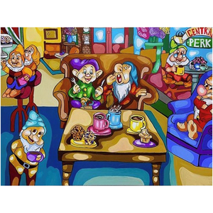 7 Dwarfs x Friends Acrylic Prints