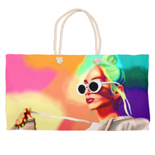 Load image into Gallery viewer, Color Girl Weekender Totes