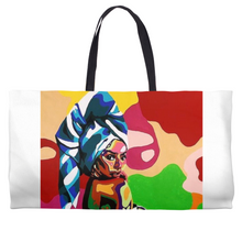 Load image into Gallery viewer, Bath Girl Weekender Totes
