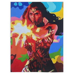 Wonder Women Minky Blankets