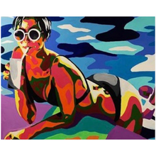 Load image into Gallery viewer, Beach Girl Acrylic Prints