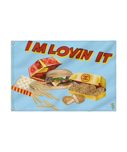 IM LOVIN IT Custom Flag 24x36