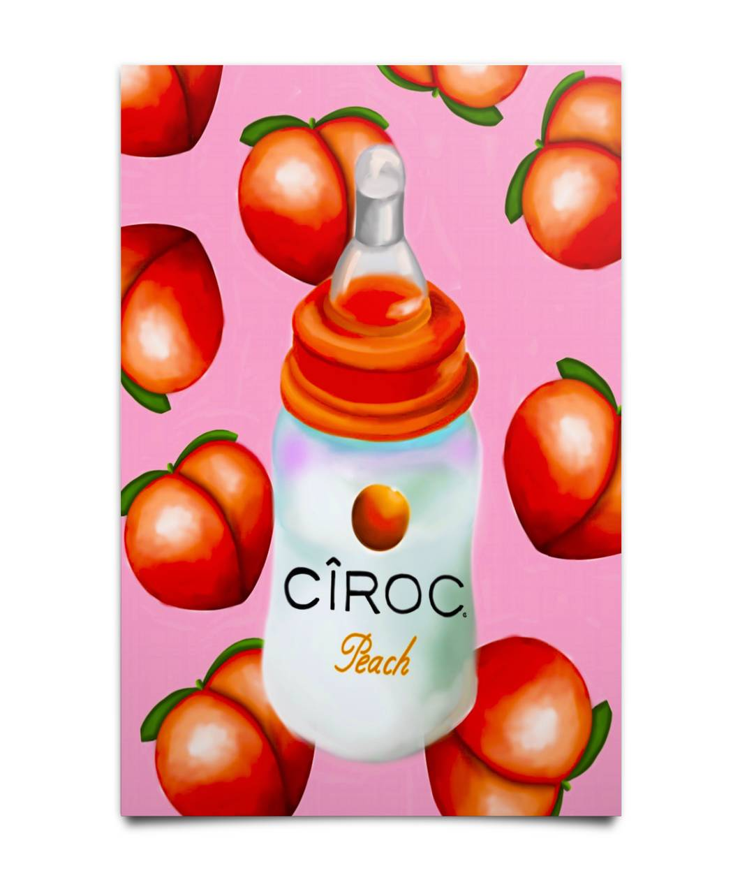 BABY BOTTLE CIROC POSTER