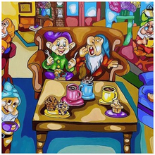 Load image into Gallery viewer, 7 Dwarfs x Friends Acrylic Prints