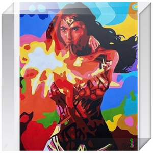 Wonder Women Acrylic Blocks