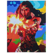 Load image into Gallery viewer, Wonder Women Minky Blankets