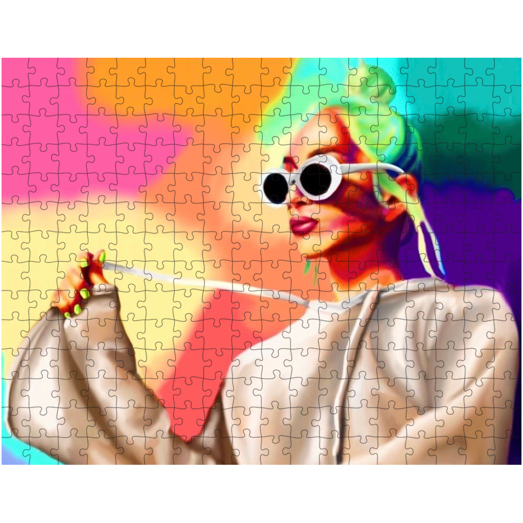 Color Girl Puzzles