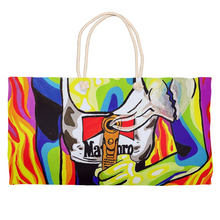 Load image into Gallery viewer, Fire Weekender Totes
