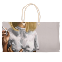 Load image into Gallery viewer, Smoke Weekender Totes