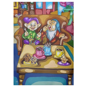 Seven Dwarfs X Friends Tapestries