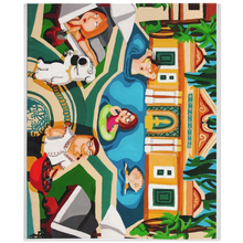 Load image into Gallery viewer, Family Guy X Versace Minky Blankets