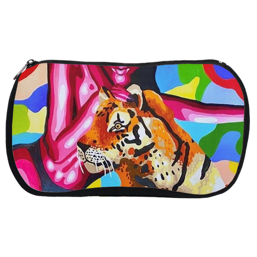 Tiger Cosmetic Bags