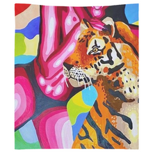 Load image into Gallery viewer, Tiger Tapestries
