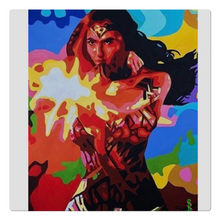 Load image into Gallery viewer, Wonder Women Cloth Napkins