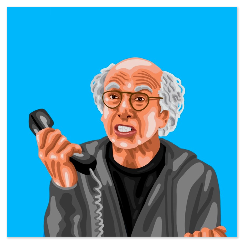 Larry David Posters