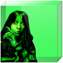 Load image into Gallery viewer, Billie Eilish Acrylic Blocks