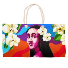 Load image into Gallery viewer, Flowers Weekender Totes