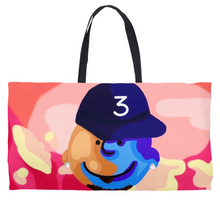 Load image into Gallery viewer, Charlie Brown x Chance The  Rapper Weekender Totes