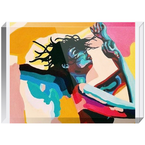 Dancing girl Acrylic Blocks