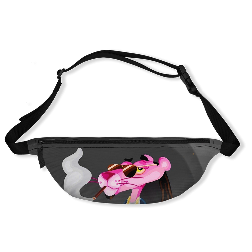 Pink Panther X Snoop Dog Fanny Packs