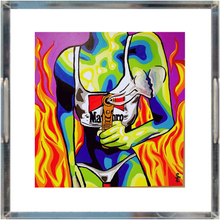 Load image into Gallery viewer, Fire Acrylic Trays