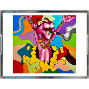 Pink Panther Acrylic Trays