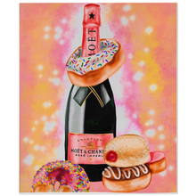 Load image into Gallery viewer, Champagne X Donuts Minky Blankets