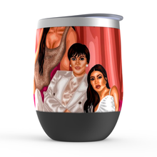 Load image into Gallery viewer, KUWTK Stemless Wine Tumblers
