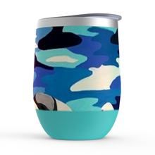 Load image into Gallery viewer, Beach Girl Stemless Wine Tumblers