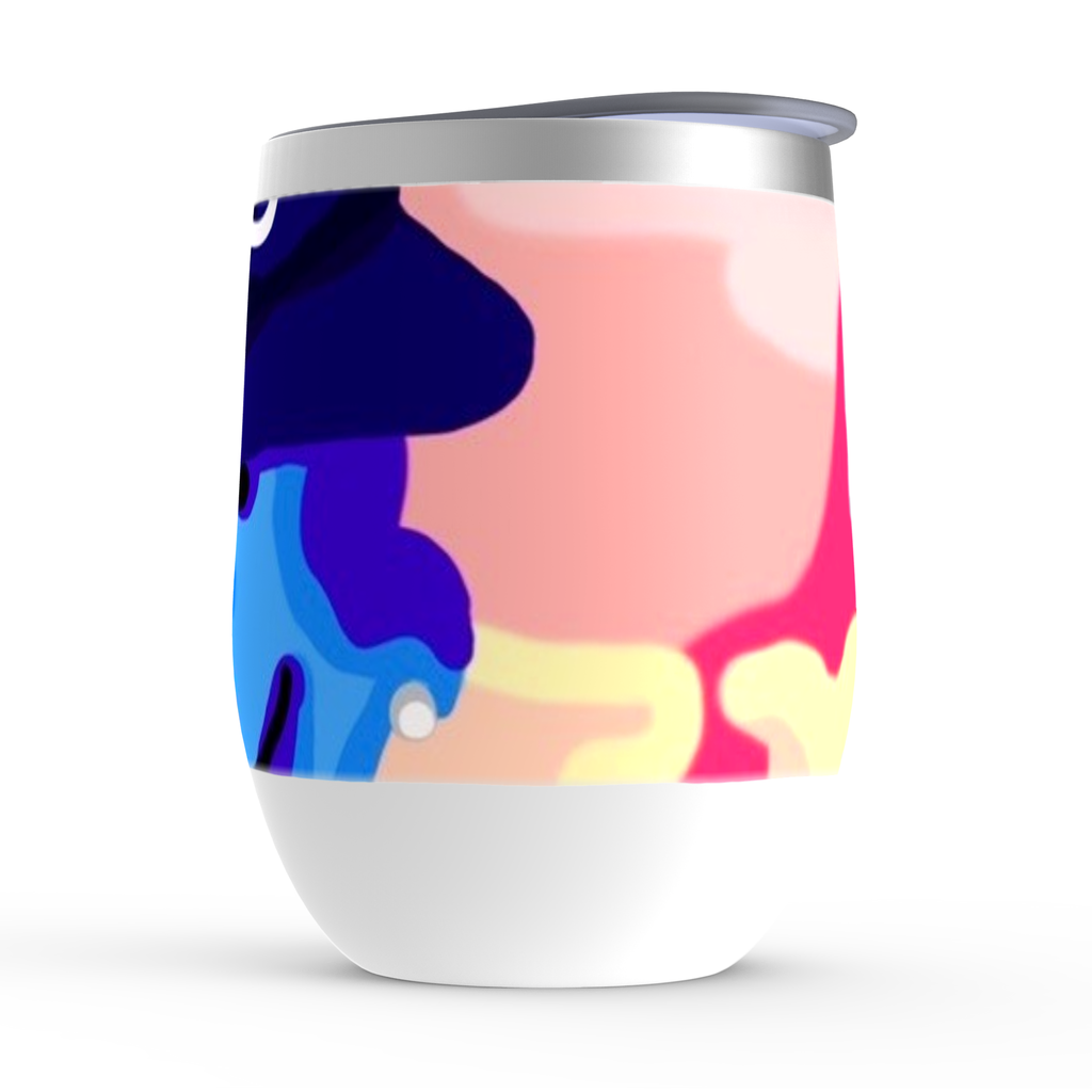 Charlie Brown x Chance The  Rapper Stemless Wine Tumblers