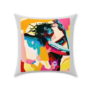 Throw Pillows Dancing Girl