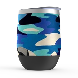 Beach Girl Stemless Wine Tumblers