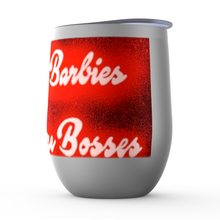 Load image into Gallery viewer, All My Barbies Were Bosses Stemless Wine Tumblers