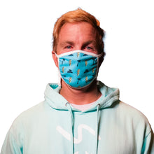 STAY PSYCHED FACE MASK - BLUE