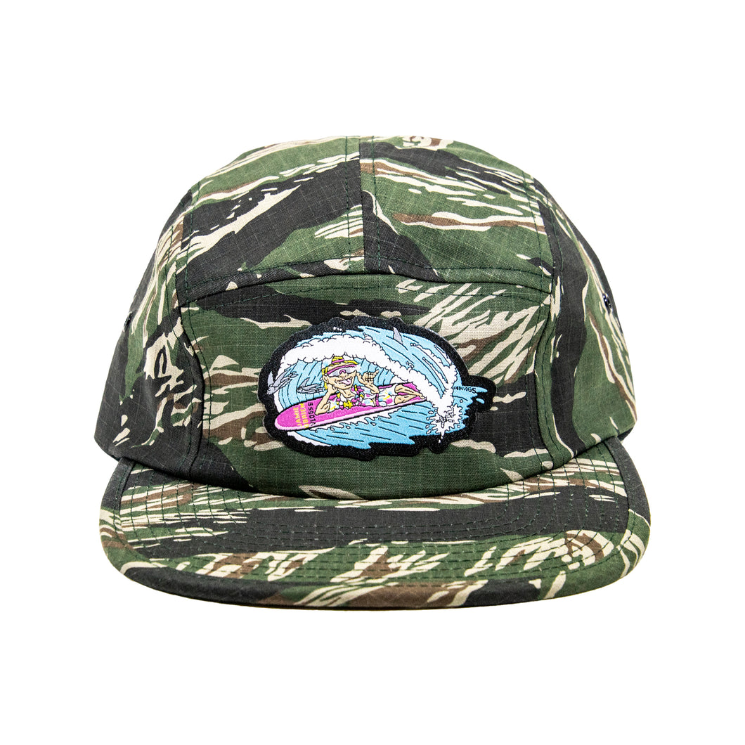 Leisure 5 Panel Hat - Camo