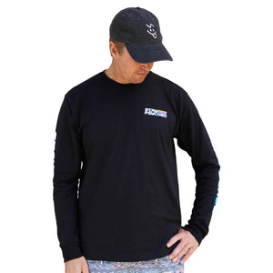 L/S SP SLEEVE TEE - BLACK