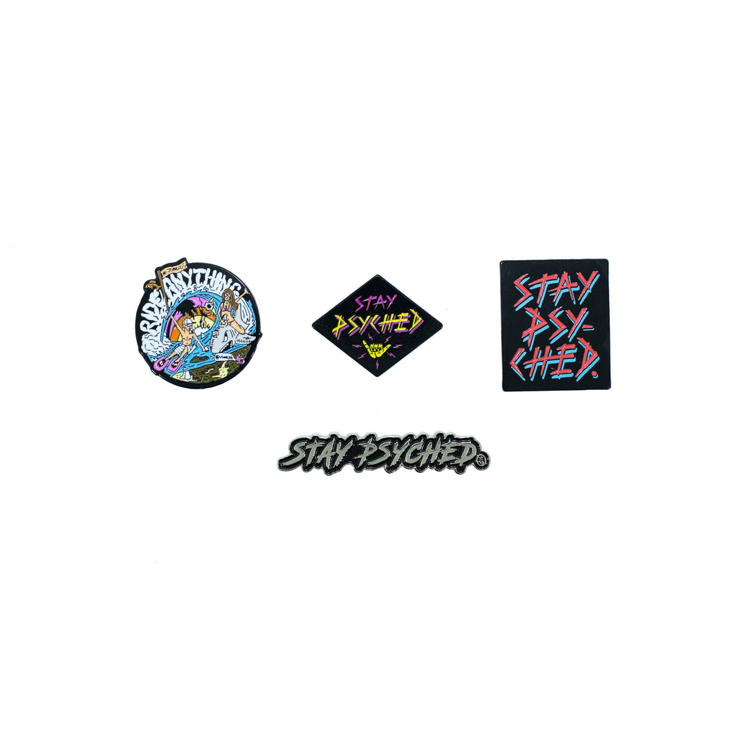 JOBVLOGS Pin Pack