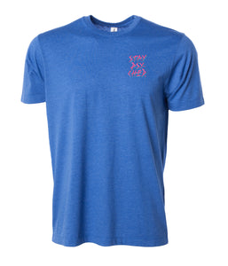 Stay Psyched Tee - BLUE