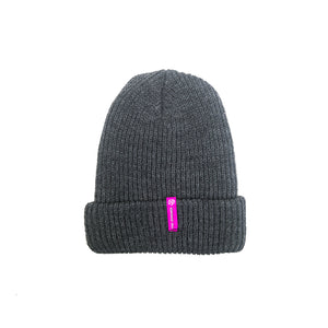 Stay Psyched Beanie (Pink Logo)