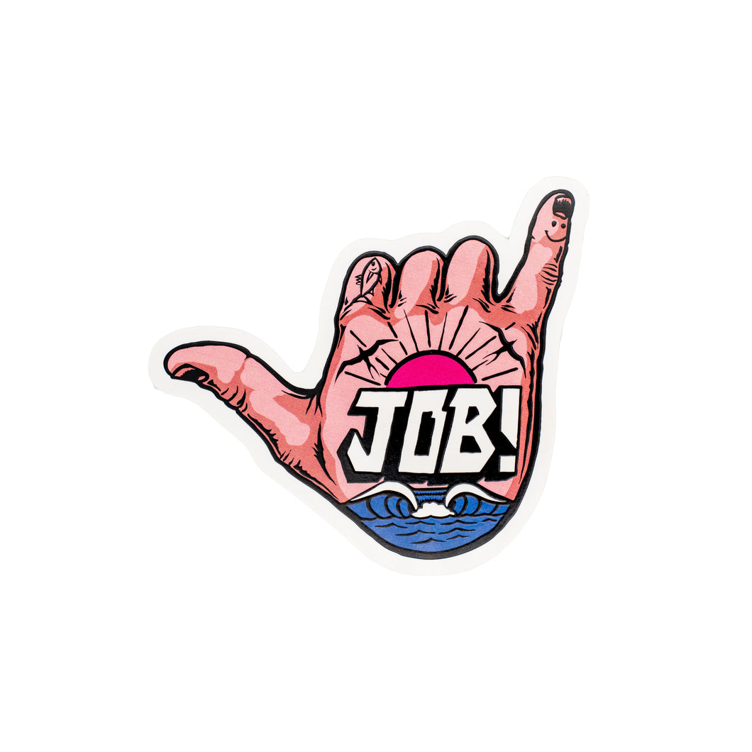JOB Shaka Sticker