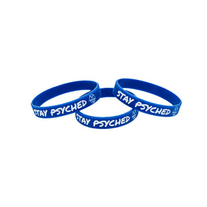 Stay Psyched Wristband - Blue
