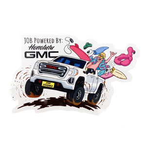 Stay Psyched x GMC: Truck Sticker
